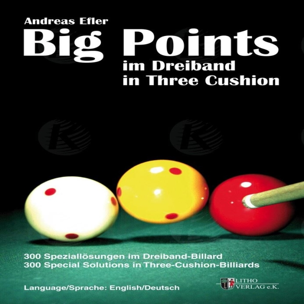 Big Points in 3-Cushion Billiard Book